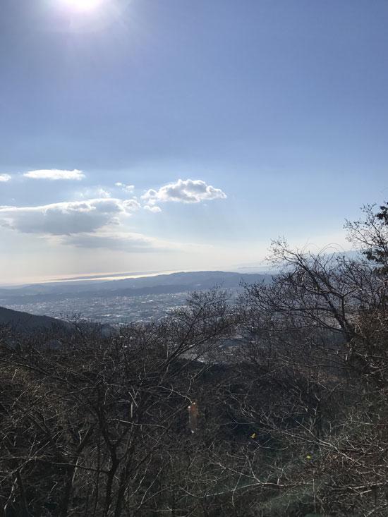 山の側溝の清掃