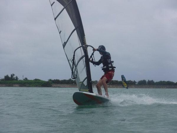 Windsurfing in Miyakojima